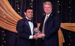 Shah-receiving-award-Dr-Fleeger-2020